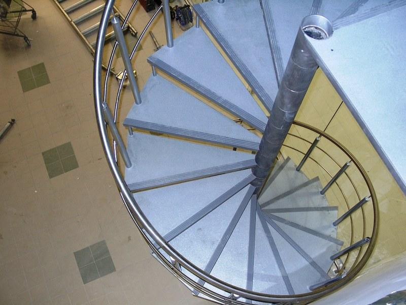 Spiral trapp